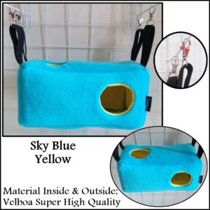 Beam Sleeping Pouch Sugar Glider Bed Yopetoys Biru Muda