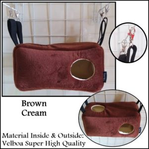 Beam Sleeping Pouch Sugar Glider Bed Yopetoys Coklat