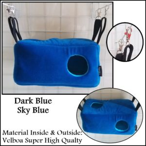 Beam Sleeping Pouch Sugar Glider Bed Yopetoys Dark Blue