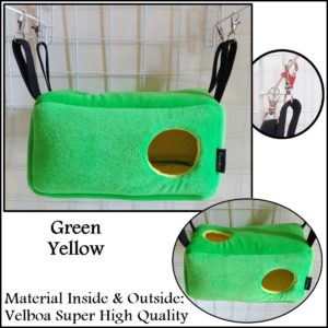 Beam Sleeping Pouch Sugar Glider Bed Yopetoys Green