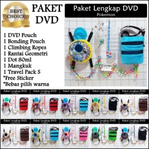 Set Perlengkapan Sugar Glider DVD All Warna