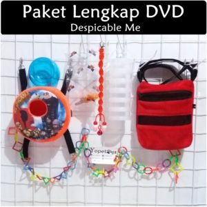 Set Perlengkapan Sugar Glider DVD Despicable