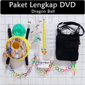 Set Perlengkapan Sugar Glider DVD Dragon Ball
