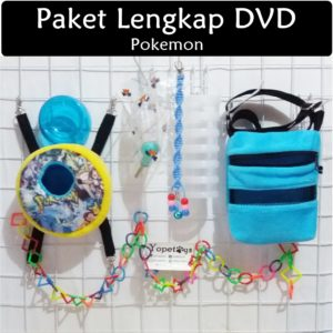 Set Perlengkapan Sugar Glider DVD Pokemon