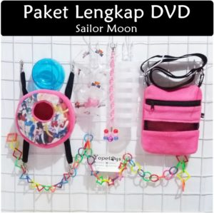Set Perlengkapan Sugar Glider DVD Sailor Moon