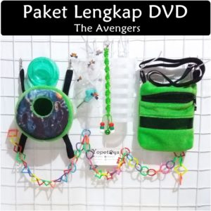 Set Perlengkapan Sugar Glider DVD The Avengers