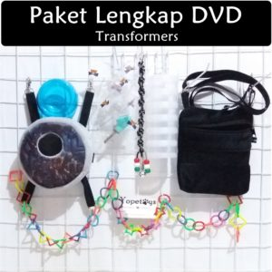 Set Perlengkapan Sugar Glider DVD Transformers